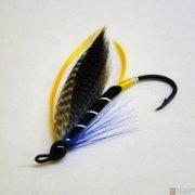 Крыло лососёвой мушки