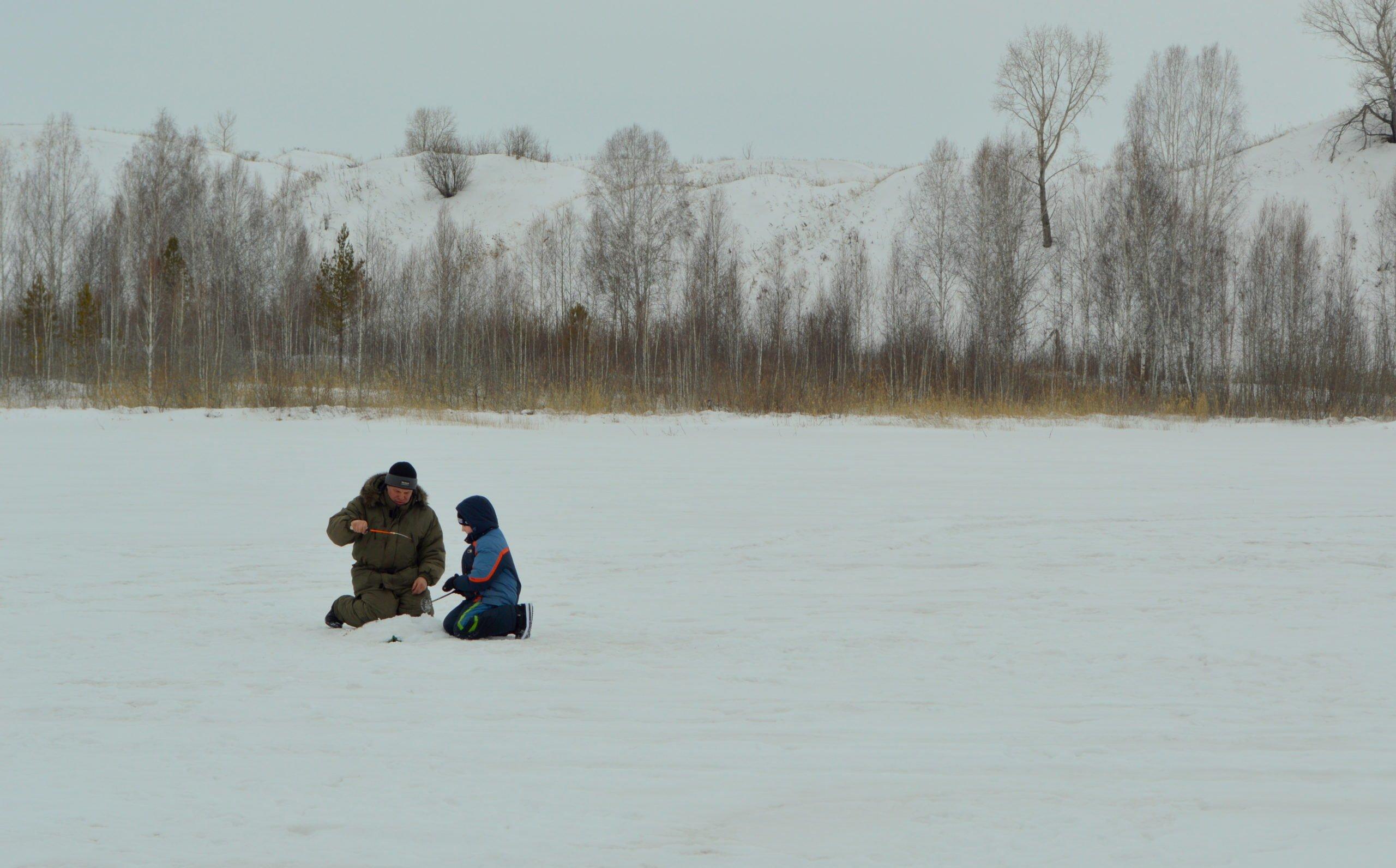 Зимняя рыбалка. Глухозимье