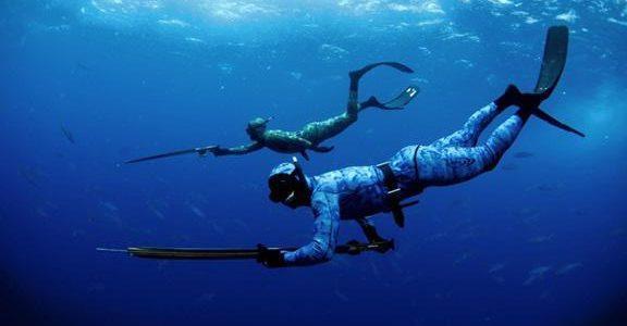 Подводная охота: рыбалка для любителей острых ощущений.